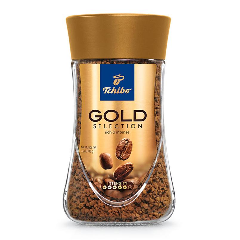 德國智寶Tchibo 金裝即溶咖啡200克