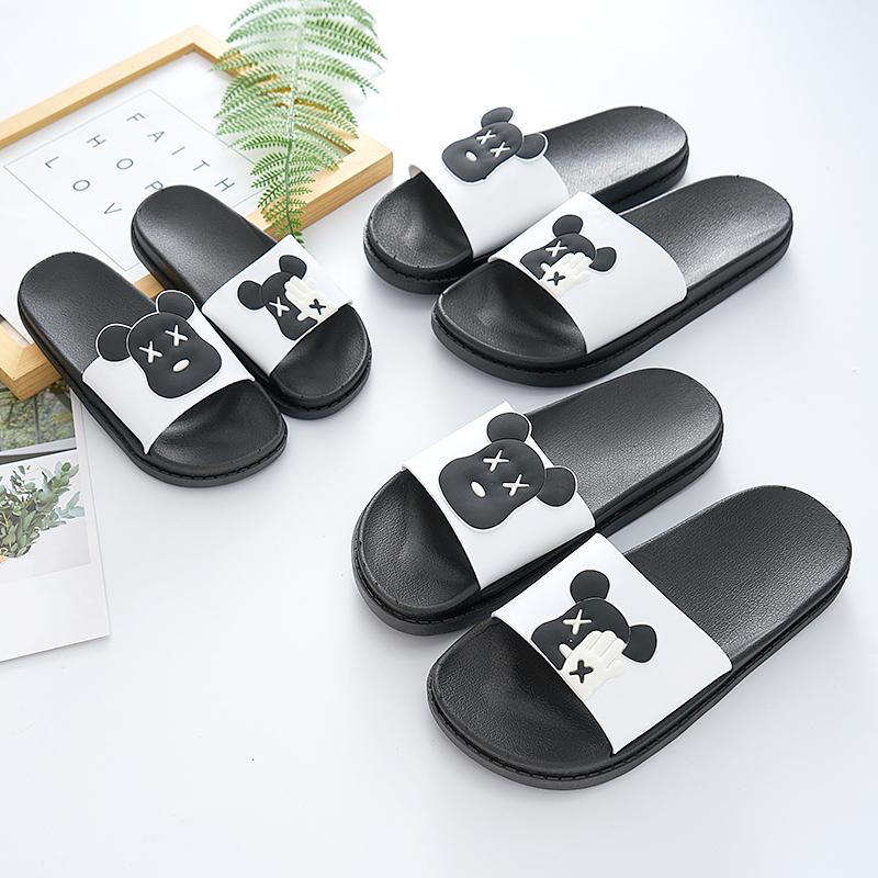木木小栈(Mumuxiaozhan)亲子拖鞋夏季浴室一家三口居家男女儿童情侣可爱外穿防滑厚底凉拖鞋