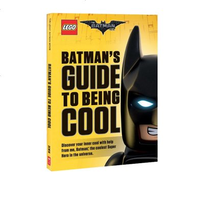 英文原版 LEGO BATMAN MOVIE: LEGO BATMAN GUIDE TO BEING COOL 乐高