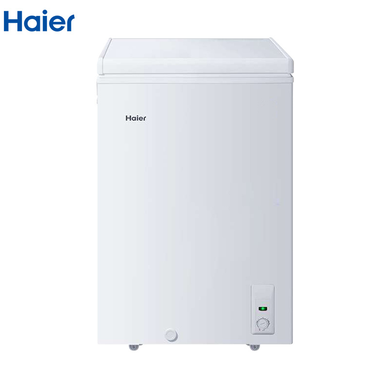 海尔(Haier)BC/BD-103HA 103升顶开门家用冰柜 冷藏冷冻转换卧式冷柜 小型迷你冷柜 节能单温减霜冰箱