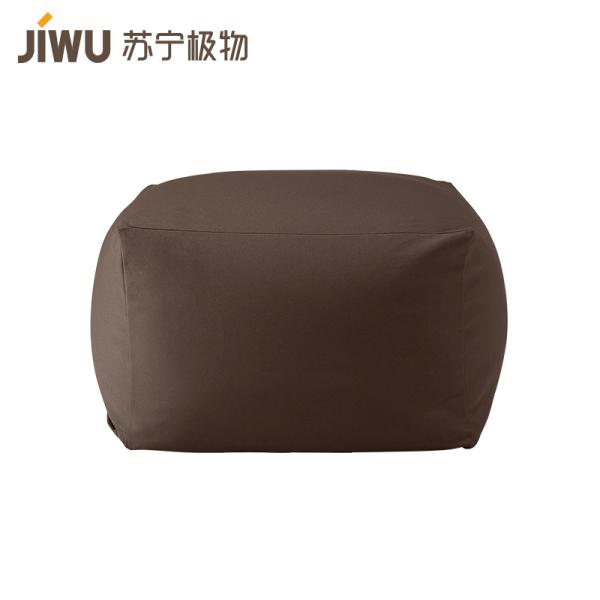 苏宁极物 日式和风单人布艺懒人沙发可拆洗卧室阳台休闲躺椅小户型榻榻米