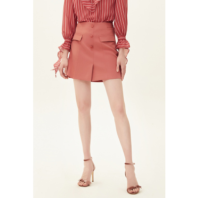 红袖 单排扣短裙 专区0.6折起