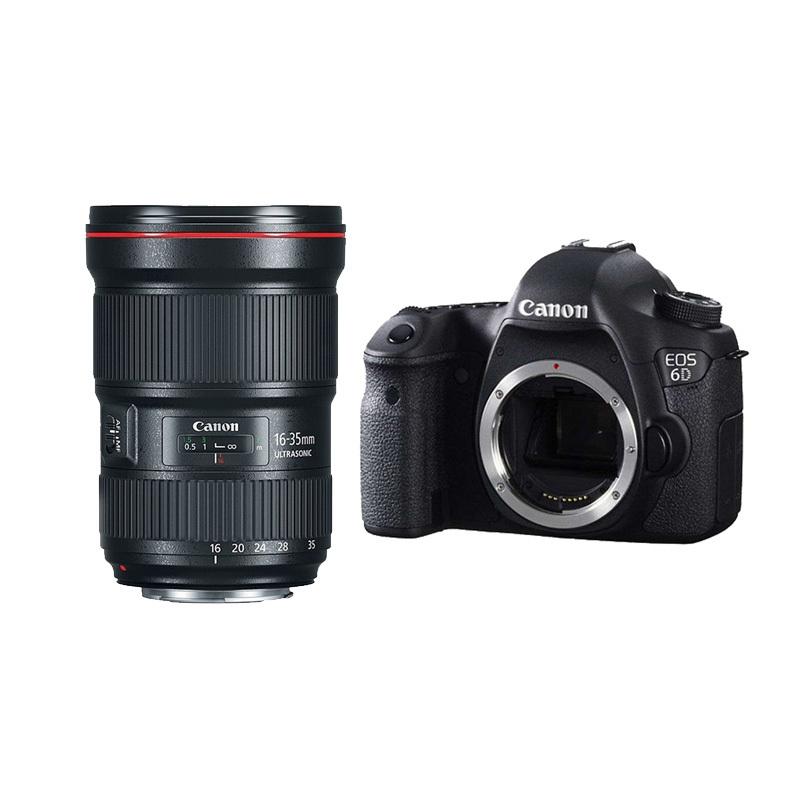 单反相机报价_单反相机 佳能(Canon) 6D单反套机(EF 16-35mm f/2.8L III USM)【价格 ...